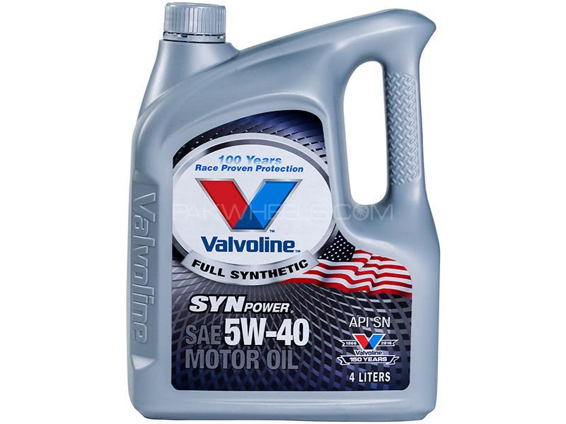 Valvoline Gasoline Oil Synpower 5w-40 - 4 Litre in Karachi