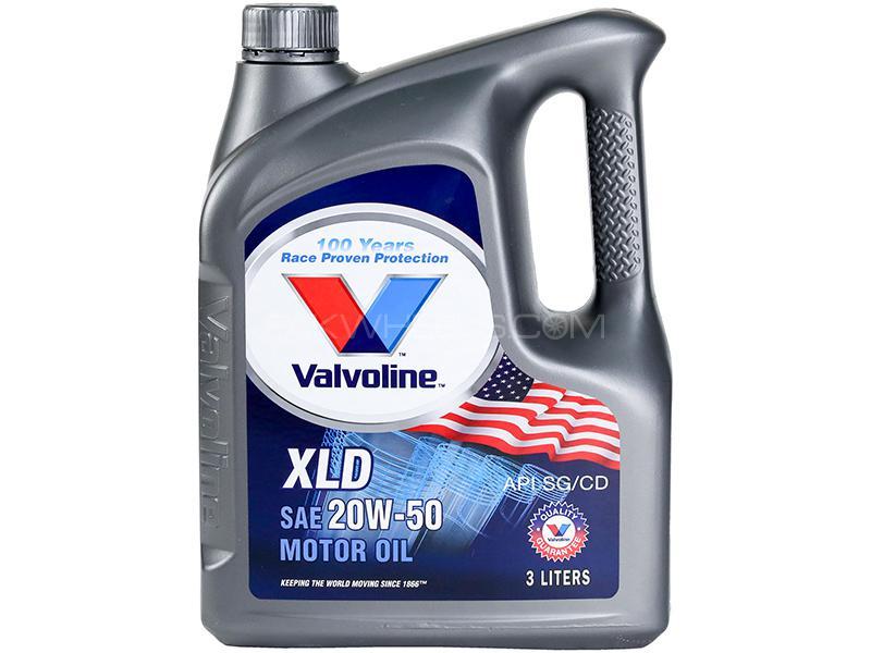 Valvoline Gasoline Oil XLD 20w-50 - 3 Litre in Karachi