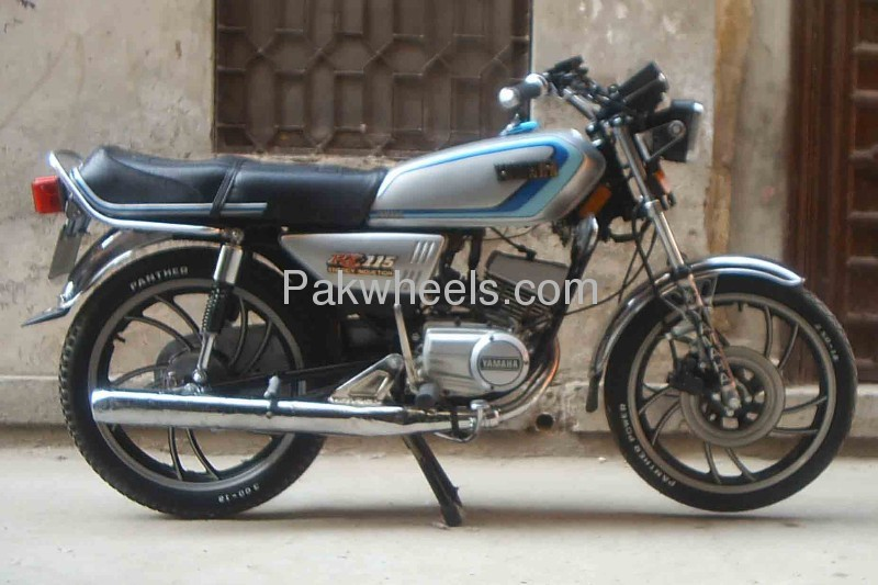 Used yamaha rx 115 1984 bike for sale in lahore 111050 for Yamaha rx115 motorcycle for sale