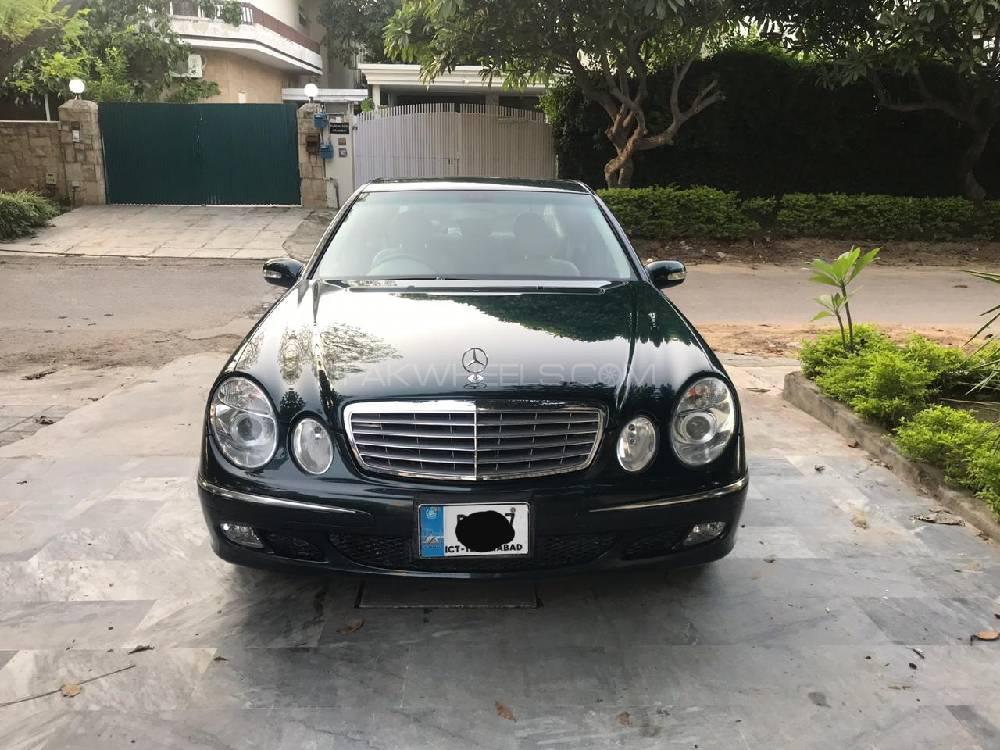 Mercedes Benz E Class E240 2004 Image-1
