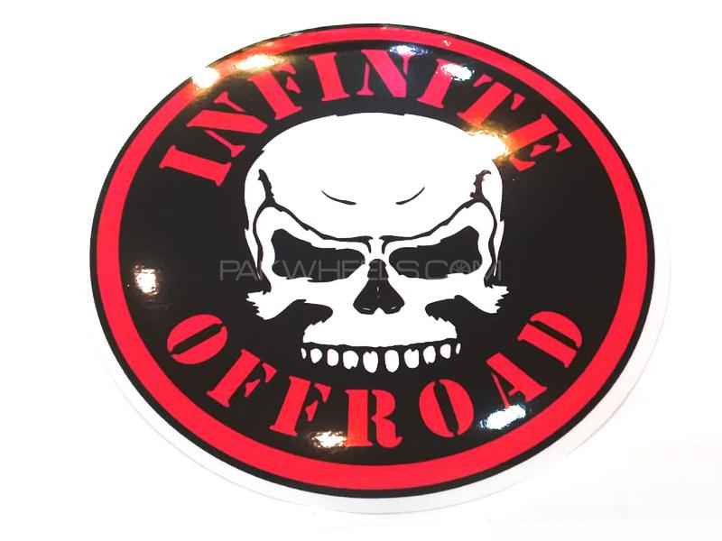 Infinite Off Road Sticker  Image-1