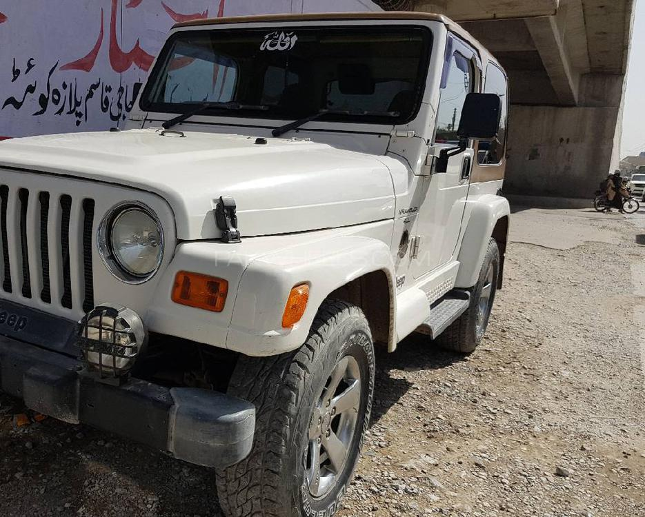 Jeep Wrangler Sahara 2002 Image-1