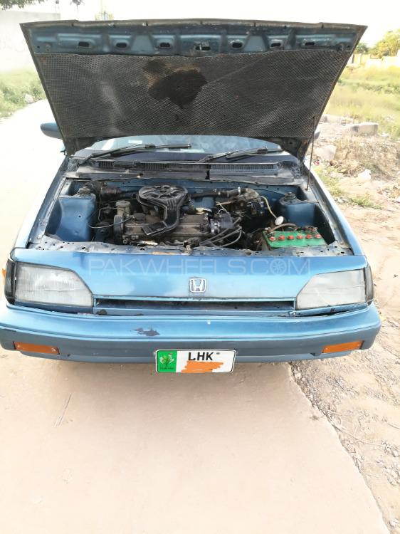 Honda Civic EX 1984 Image-1