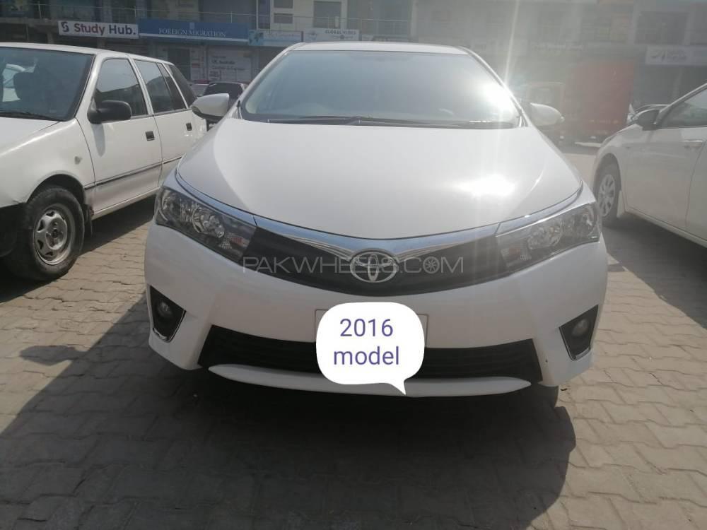 Toyota Corolla Altis Automatic 1.6 2016 Image-1