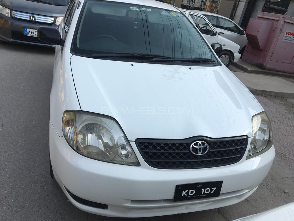 Toyota Corolla X L Package 1.3 2001 Image-1