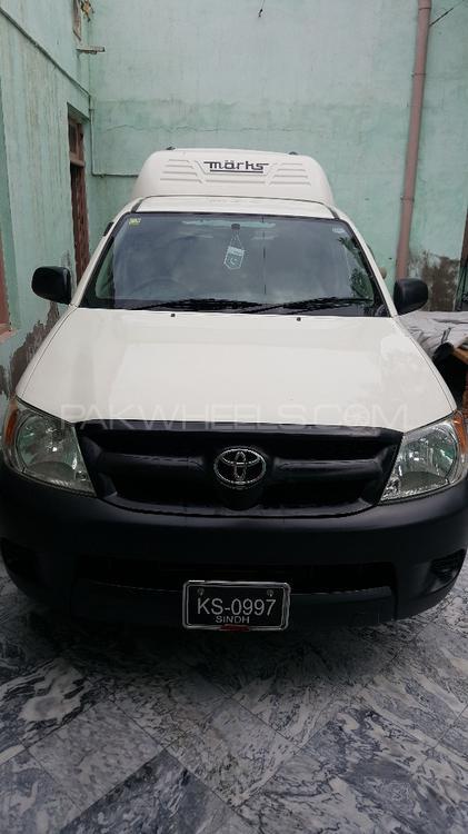 Toyota Hilux 4x2 Single Cab Up Spec 2011 Image-1