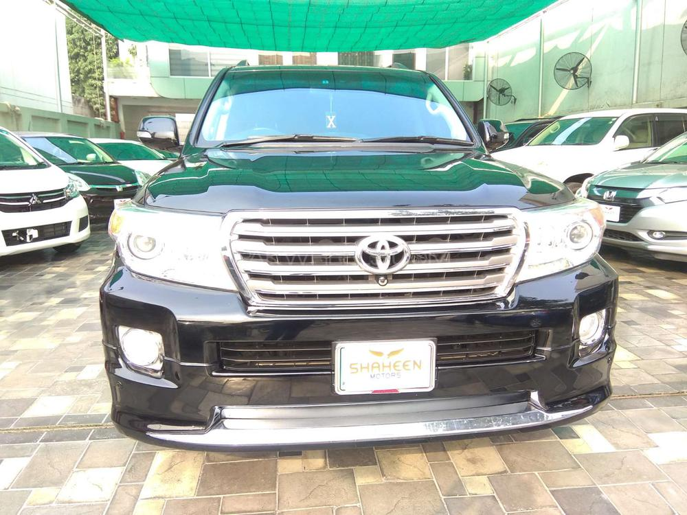 Toyota Land Cruiser AX G 60th Black Leather Selection 2012 Image-1