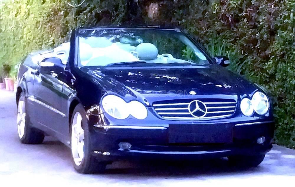 Mercedes Benz CLK Class CLK200 Kompressor Cabriolet 2004 Image-1