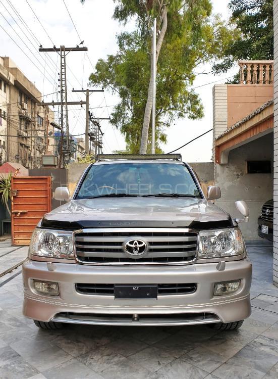 Toyota Land Cruiser Amazon 4.2D 2001 Image-1