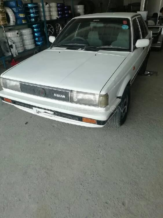 Nissan Sunny EX Saloon 1.3 (CNG) 1988 Image-1