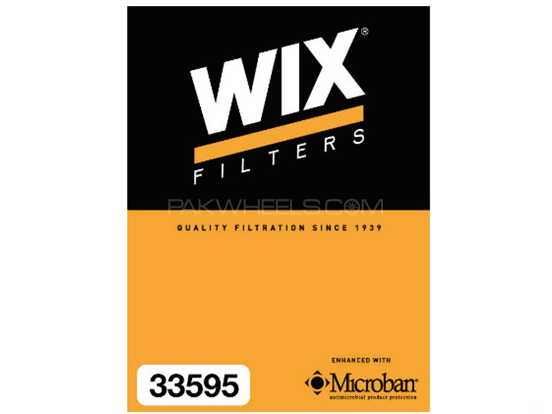 Wix Air Filter For Toyota Corolla Axio 2006-2012 - Made in Poland Image-1