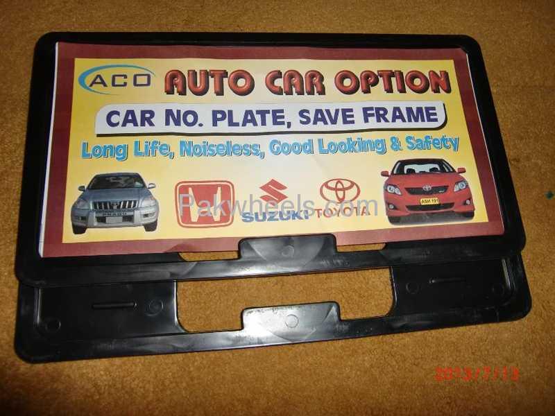 Buy Number Plate Frames in Karachi | PakWheels
