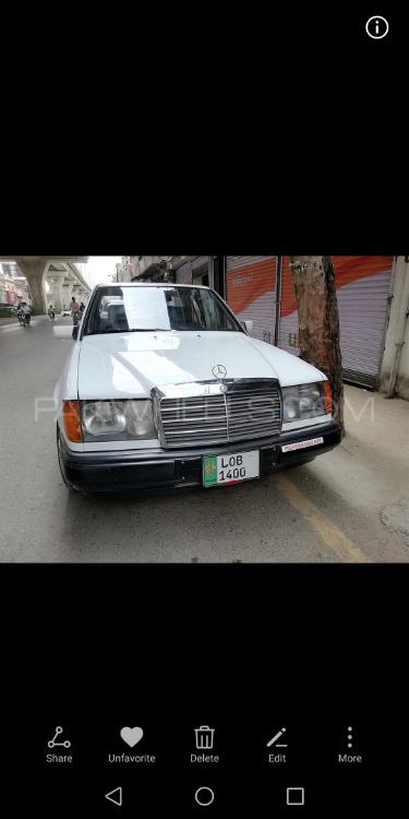 Mercedes Benz E Class - 1986  Image-1