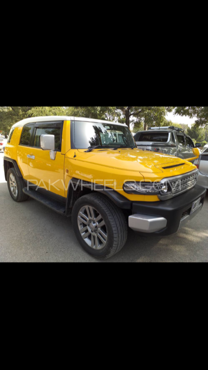 Toyota Fj Cruiser - 2013  Image-1