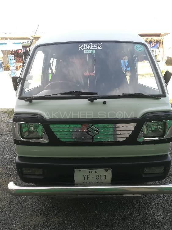 Suzuki Bolan Cargo Van Euro ll 2013 Image-1