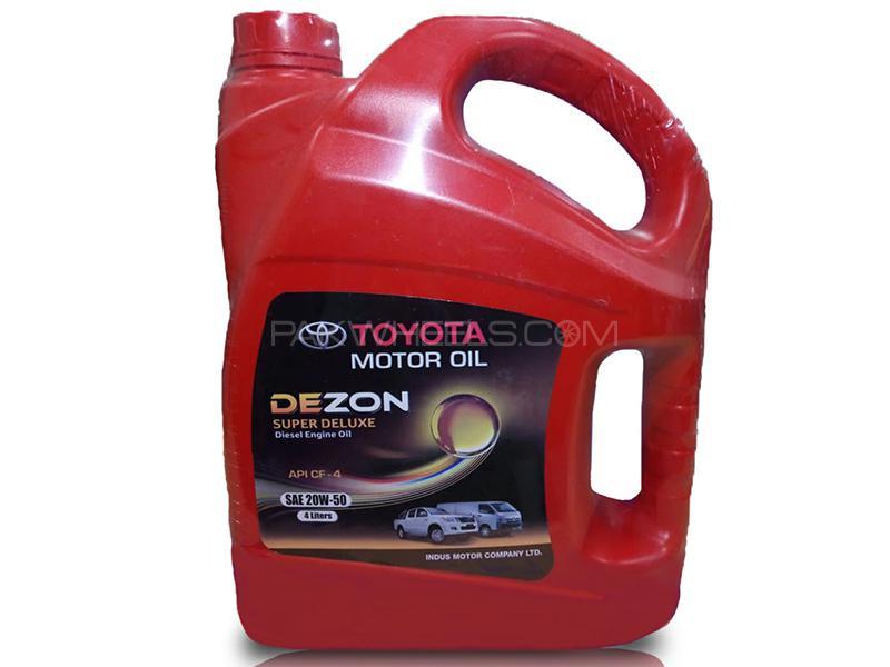 Toyota Genuine Dezon Super 20W-50 - 4 Litre Image-1