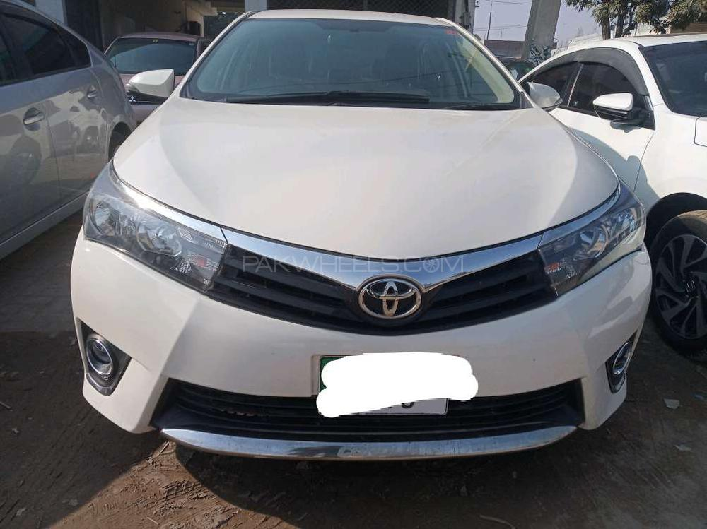 2014 Toyota Corolla For Sale >> Toyota Corolla Xli Vvti 2014 For Sale In Gujranwala Pakwheels