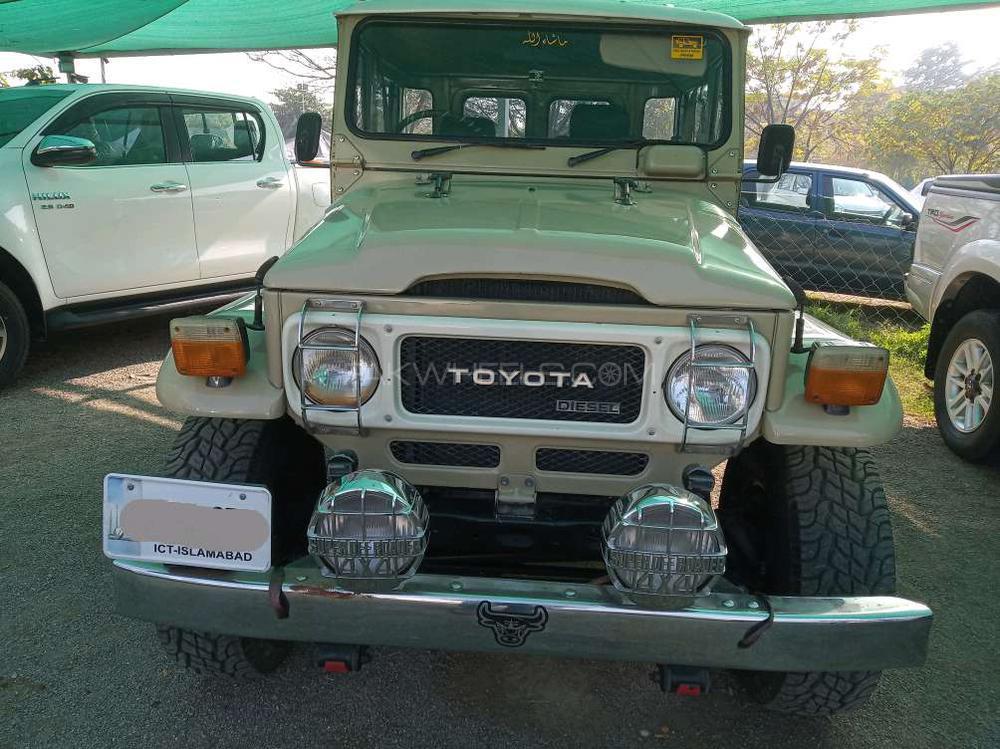 Toyota Land Cruiser FJ40 1984 Image-1