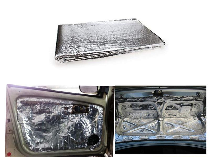 Car Multipurpose Damping Sheet For Doors and Hood 3x4ft Image-1