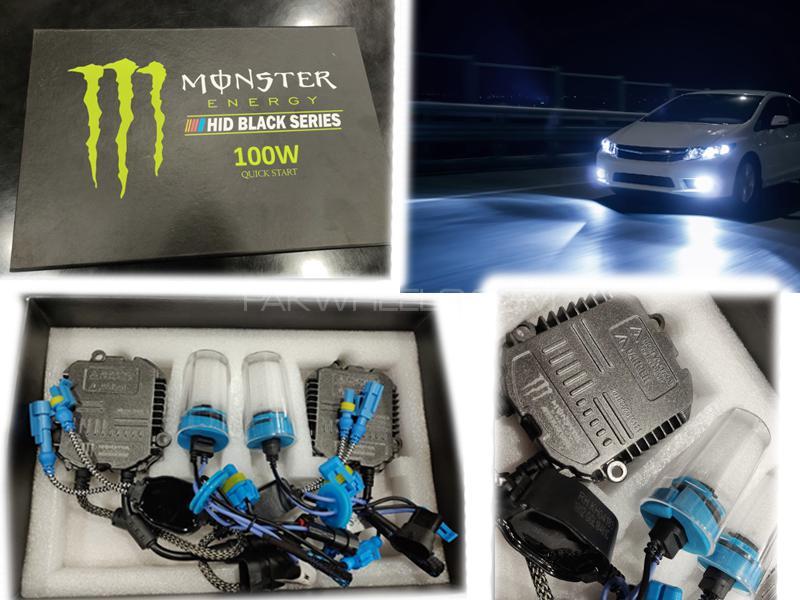 Monster Hid Black Series 100w Quick Start 9005 Image-1