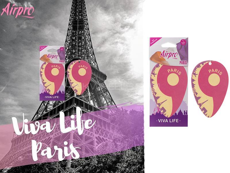 AirPro Viva Life Paper Hanging Air Fragrance Paris Image-1