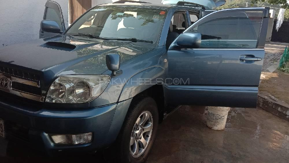Toyota Surf SSR X 3 0D 2005 for sale in Islamabad