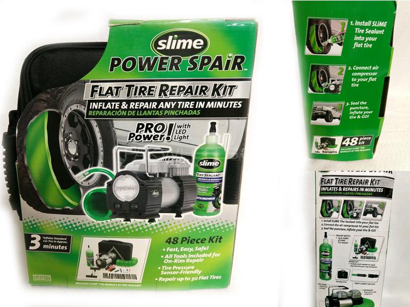 Slime Power Spair Flat Tire Repair Kit in Lahore