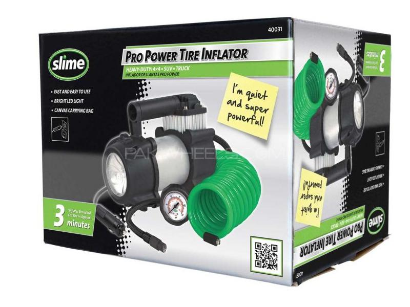 Slime Pro Power Tire Inflator Kit in Lahore