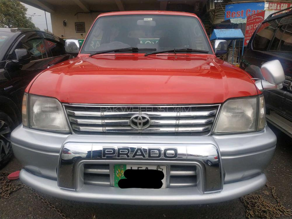 Toyota Prado RZ 3 0D 3 Door 1996 for sale in Islamabad