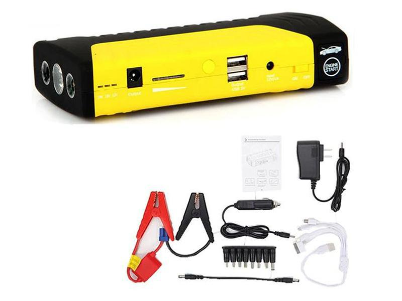 High Power Jump Starter Power Bank Station Image-1