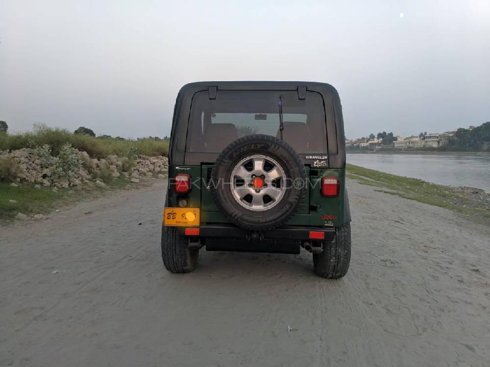 Jeep Wrangler Sahara For Sale >> Jeep Wrangler Sahara 1981 For Sale In Hyderabad Pakwheels