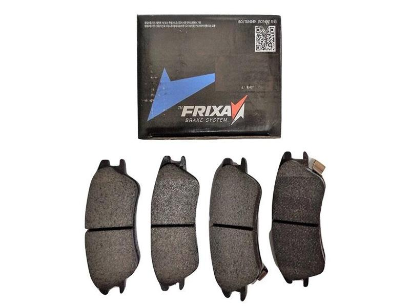 Frixa Rear Brake Pad For Toyota Corolla 2008-2014 - FPE039 Image-1