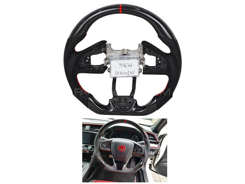 Honda Civic 2016-2019 Carbon Fiber Steering  in Karachi