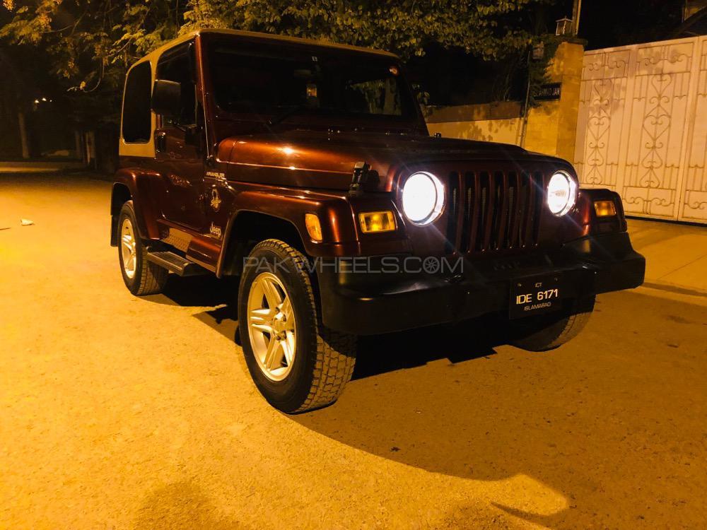 Jeep Wrangler - 2002  Image-1