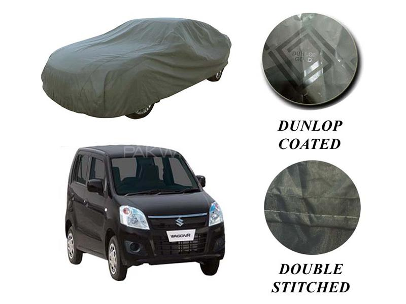PVC Coated Double Stitched Top Cover For Suzuki Wagon R Local  Image-1