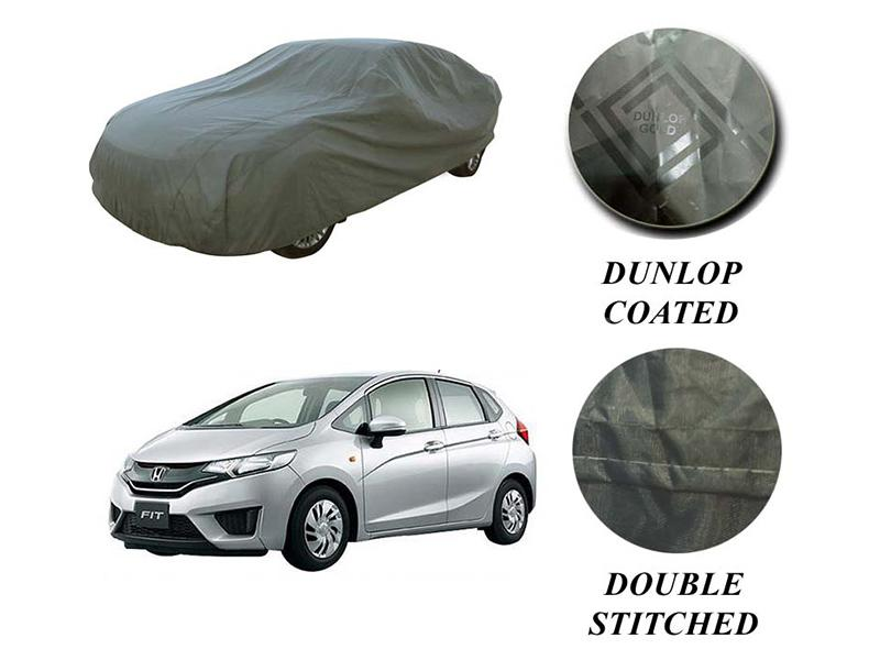PVC Coated Double Stitched Top Cover For Honda Fit 2013-2020 in Karachi
