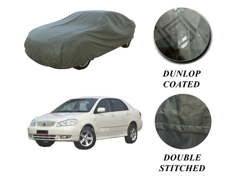 PVC Coated Double Stitched Top Cover For Toyota Corolla 2002-2008 Image-1