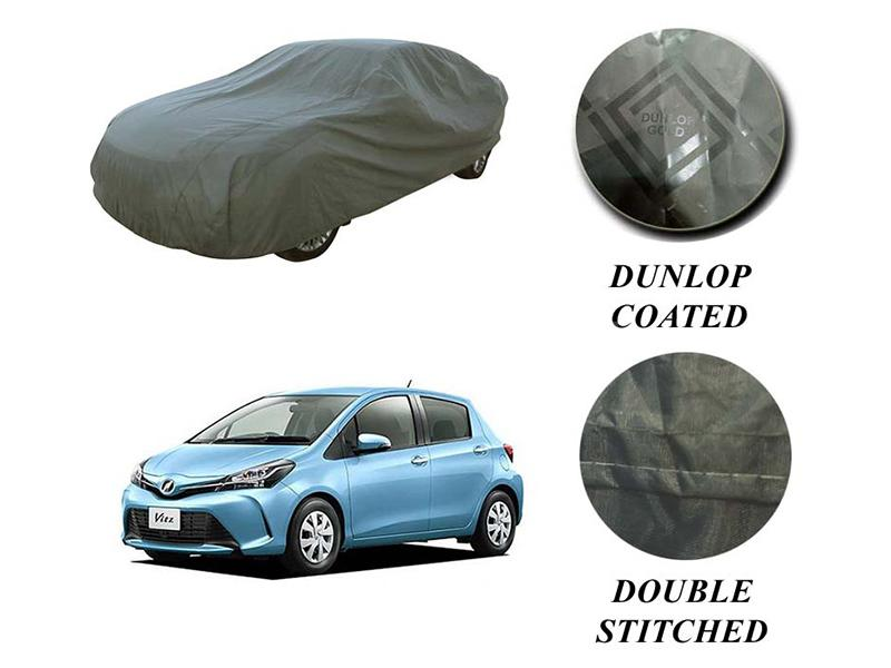PVC Coated Double Stitched Top Cover For Toyota Vitz 1998-2020 in Karachi