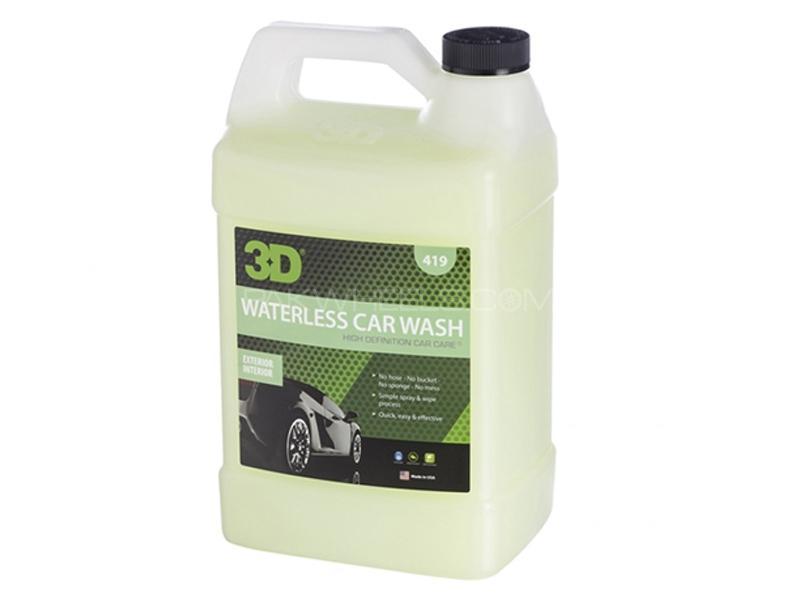 3D Green Waterless Car Wash Shampoo - 1 Gallon Image-1
