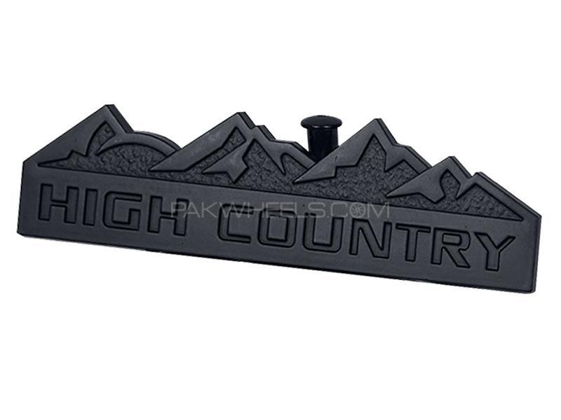 High Country Logo - Black  Image-1