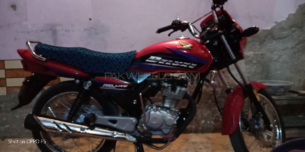 Honda CG 125 Deluxe - 2015 murtaza qazi Image-1