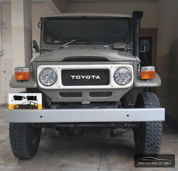 Toyota Fj40 Hardtop For Sale: Toyota Land Cruiser FJ40 1983 For Sale In Islamabad