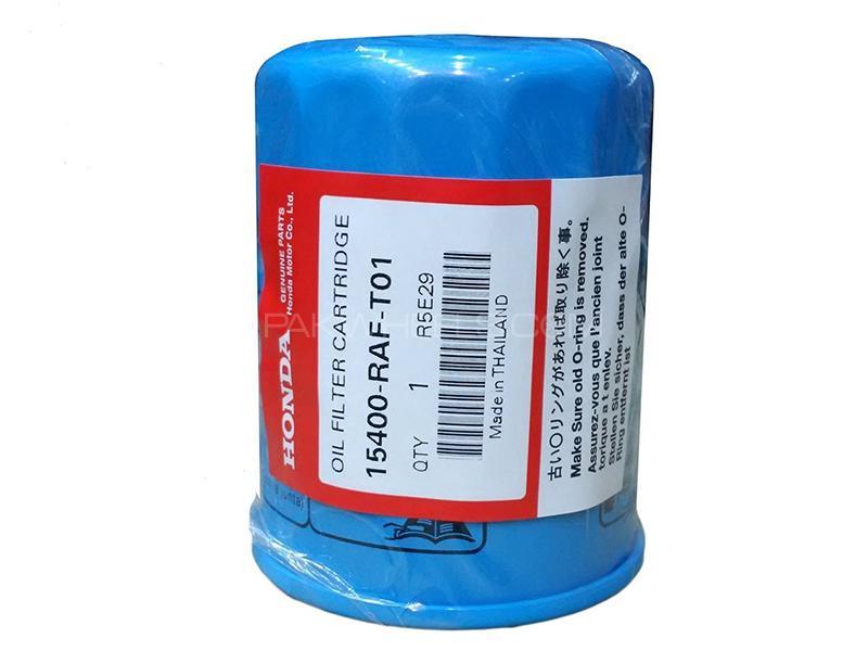 Honda Genuine Oil Filter For Honda City 2003-2006 15400-RAF-T01 Image-1