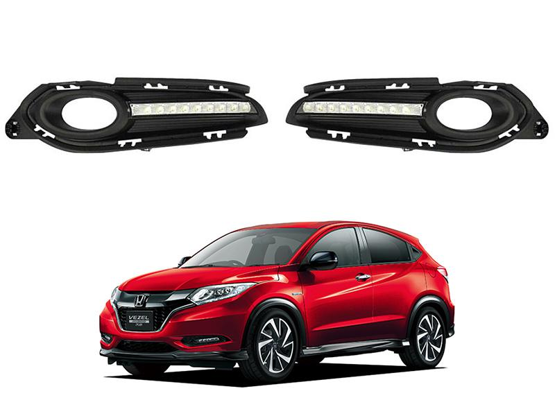 DLAA Fog Lights Cover For Honda Vezel 2014-2020 - HD011L2 Image-1