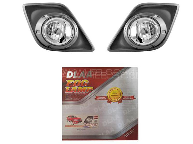 DLAA Fog Lights Cover For Toyota Revo 2017-2020 - TY817L2 Image-1