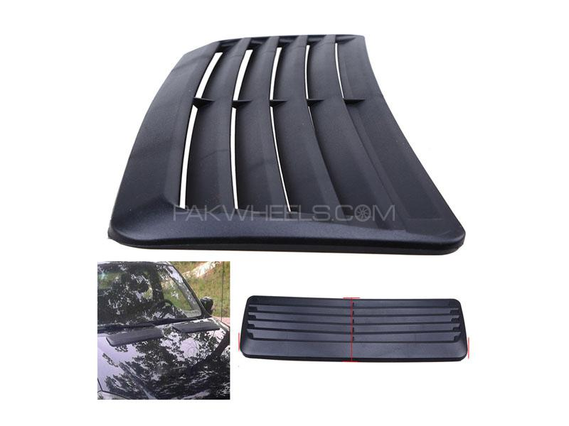 Universal Hood Scoop Vent for Bonnet Black Large in Lahore