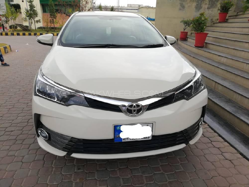 toyota corolla gli automatic 1 3 vvti 2020 for sale in islamabad