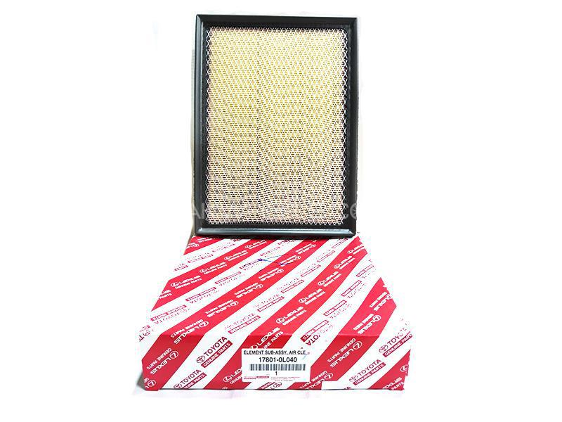 Toyota Genuine Air Filter For Toyota Fortuner 2016-2020 - 17801-OLO40 Image-1