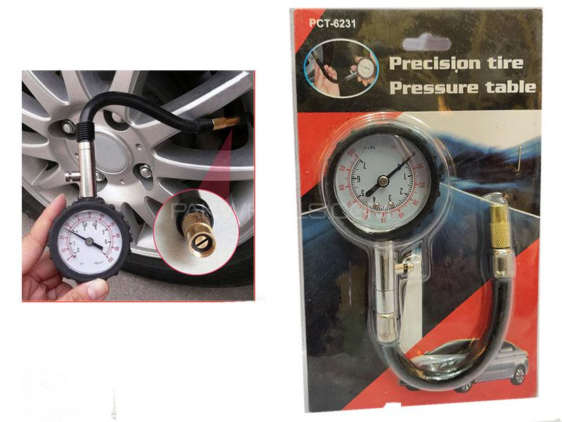 Analog Tire Pressure Monitor Gauge Tool Image-1