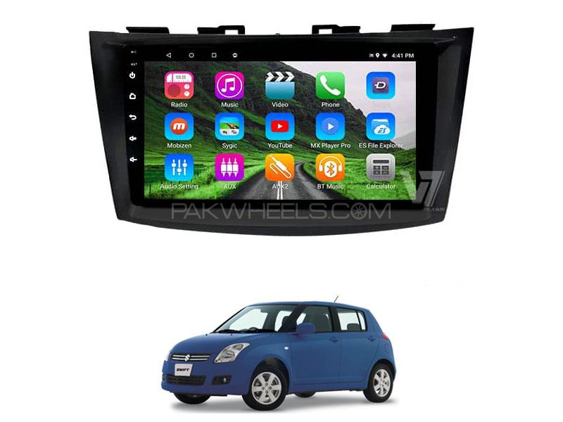 V7 Navigation 10″ Android Screen For Suzuki Swift 2010-2020 Image-1